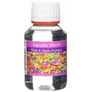 Cupcake World Plum and Apple Crumble Intense Food Flavouring 100 ml