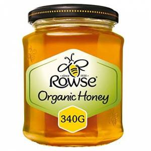 Rowse Organic Clear Honey 340g