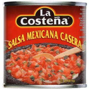 La Costeña Salsa Mexicana Casera - 2950 ml - La Costena