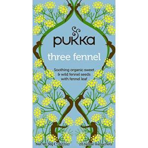 Pukka Organic Three Fennel, 20 Teabags