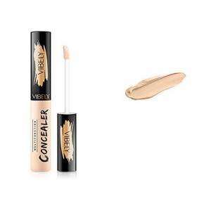 Professional Hide The Blemish Concealer Makeup Covering Dark Circles Spot Concealer Mastertouch All Day Concealer Pen Faulty Face 24+ Hour Flawless Full Coverage,SPF 50,Natural,AMhomely (A)