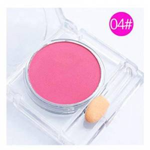 BIYI Blusher Palette Nude Makeup Blush Powder Cosmetics Sleek Korean Make Up Cheek Sleek Soft Powder Cosmetics 4
