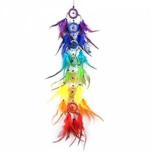 LYFEI Ins wind ornament Dream Catcher, Handmade Dream Catchers For Bedroom Wall Hanging Home Decor Ornaments Craft (Color, Size : Length 75cm)