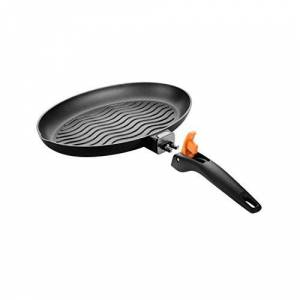 Tescoma Oval Frying Pan for Fish  26 cm Smartclick, Assorted, 44 x 35 x 8.7 cm