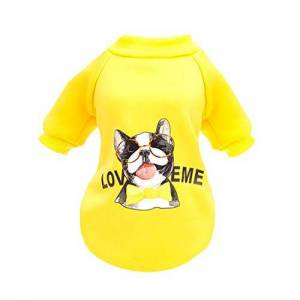 WAOTIER Dog Sweater, Pet Winter Classic Faux Fleece Jumpsuit Shirt Halloween Costume Coat,Jacket Pullover Soft Outfit Sweatshirt for Dogs Cats Sweater Outwear Costume