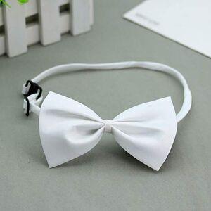 yibenwanligod Solid Color Adjustable Cat Bowtie Pet Dog Collar Cute Bowknot Necktie Bow Tie