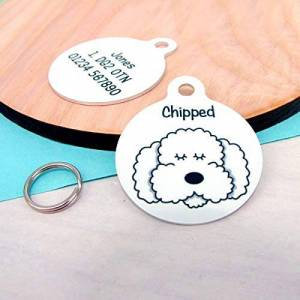 DKISEE Pet ID Tag Cat and Dog Personalized Metal ID Tag Dog Tag Dog Tag for Dogs Personalised Dog Tag Personalised Dog Tag Collar Dog Dog Collar Pet Tag Personalised Dog Tag Pet