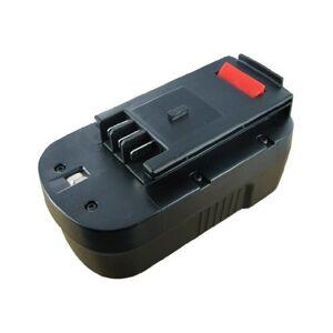 Battery for BLACK ET DECKER HPG1800, 18.0V, 3000mAh, NiMH