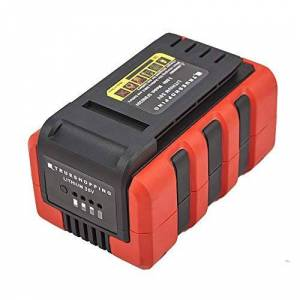 TRUESHOPPING Rechargeable 36V Lithium-Ion Battery - Works with Whole Range: Chainsaw, Lawnmower, Hedge Trimmer, Leaf Blower, Grass Trimmer and Multi Tool - Fast Charger Sold Separately