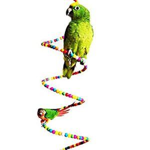 Rodite Color Parrot Supplies Rotating Ladder Bird Climbing Bite Toy Parrot Swing Ladder Bird Toy Parrot Toy Parrot For Bird Parrot Parakeet Cockatiel Macaw African Grey Cockatoo