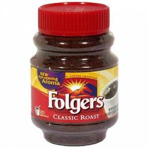 Folgers Classic Roast Coffee Instant Coffee 226g