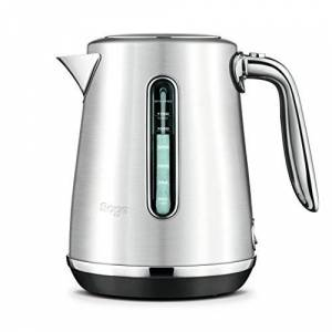Sage BKE735BSS The Soft Top Luxe Kettle Brushed, Stainless Steel