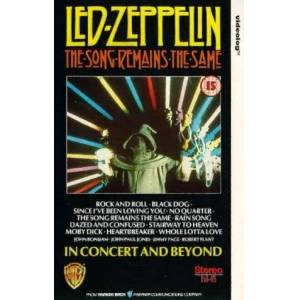 Led Zeppelin - The Song Remains the Same [VHS] [1976]