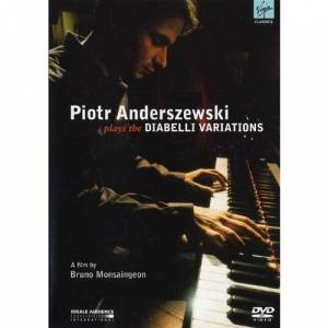Piotr Anderszewski plays Beethoven Diabelli Variations (a film by Bruno Monsaingeon) [DVD]