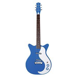"""Danelectro DC59M-GBL""""GO GO BLUE"""" Guitar - Blue"""