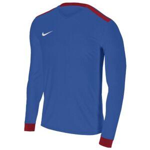 Nike Men Dry Park Derby II Long Sleeve Top - Royal Blue/University Red/University Red, Medium