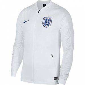 Nike Ent M NK anthm FB Jkt, Pre Race Jacket, Men's, 893588 101, white/Off white/Sport royal, Large