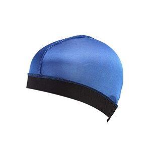 Mamum Long Hair Care Cap, Long Hair Care Women Fashion Bonnet Cap Night Sleep Hat Silk Cap Head Wrap (Blue)