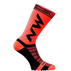 GreceMonday Breathable Adult Men Compression Long Socks Warm Football Socks Basketball Sports Anti Slip Cycling Climbing Running Socks(red)