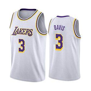 FILWS Basketball Jersey Anthony Davis Men's Sports Embroidery Jersey Regular Season Retro Basketball Uniforms Unisex Quick-drying Fabrics Fan Sportswear