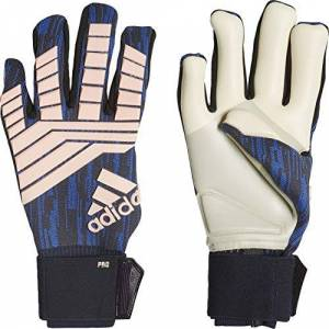 adidas Predator Pro Goalkeeper Gloves Cold Fashion, Unisex, CW5586, Trace Royal S18/Clear orange/Tech ink, 11