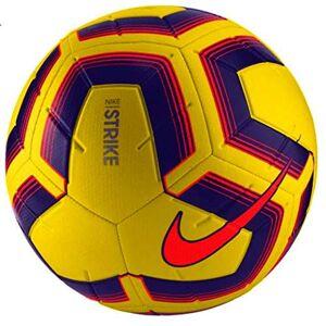 Nike Unisex - Adult Strike Team Football, SC3535-710, hi vis yellow/crim/pur/crim, 4 (EU)
