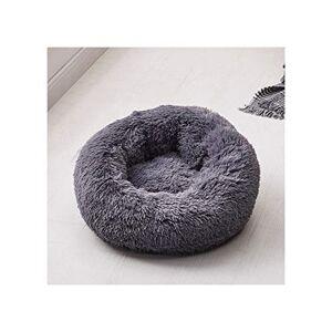 PageHar Long Plush Soft Dog Bed Pet Kennel Round Sleeping Bag Lounger Cat House Warm Sofa Basket For Small Medium Large Dog,12,M Diameter 60Cm
