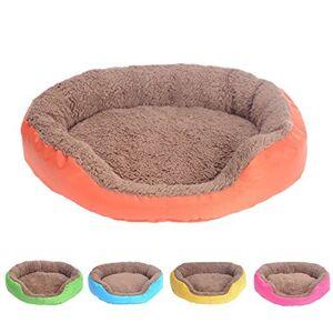 Feli546Bruce Pet Bed, Winter Warm Soft Fleece Puppy Pet Dog Cat Large Bed House Basket Nest Mat Plush Dog Bed Large Warm Cuddler Kennel Soft Puppy Sofa Cat Cushion Bed Sleeping Bag
