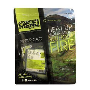 Adventure Menu Flameless-Heater ALLinONE (3pcs 20g + 2pcs 50g + Zipper Bag)