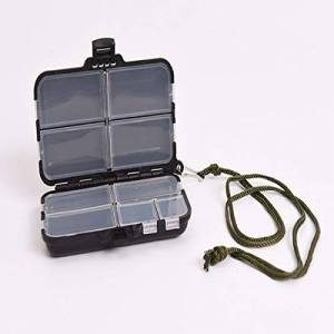 Gugutogo LEO Fishing Lure Boxes Bait Tackle Plastic Storage Lure Case ni Lure Box for Vest Fishing Accessories Storage Containers