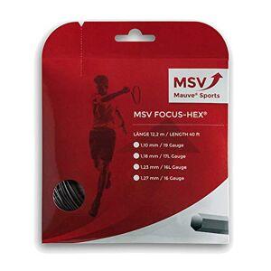 MSV Focus Hex 12m black Tennis String 1.23mm