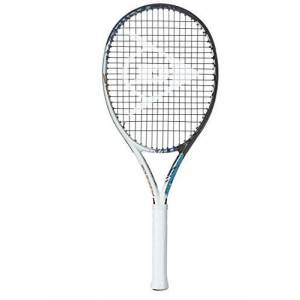 Dunlop Unisex's Force 105 Tennis Racket-White, 3 Grip