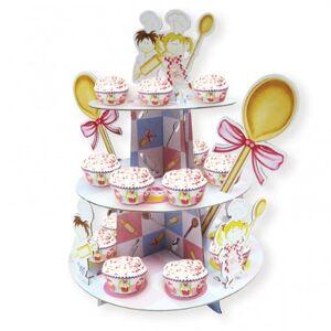 amscan Little Cooks Cupcake Stand 35cm x 30cm