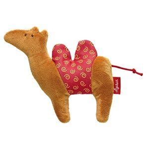 Sigikid 41269 Red Stars Safari Tiere Camel Mini Grasp Toy, 11 x 13 x 3 cm