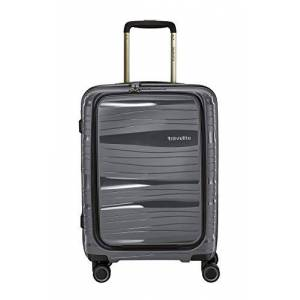 """travelite Lightweight, Sturdy and Portable 4-Wheel Trolley Travel Suitcase""""Motion"""" with Hard-Shell in 4 Colours"""