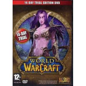 Blizzard WORLD OF WARCRAFT 14 DAY TRIAL PC