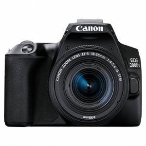 Canon EOS 200D Mark II Twin kit with 18-55 IS STM and 55-250mm IS STM Lens...