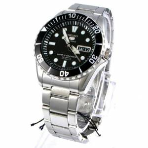 Seiko Men's Five Sports Stainless Steel Water 100M Resist Automatic Watch...