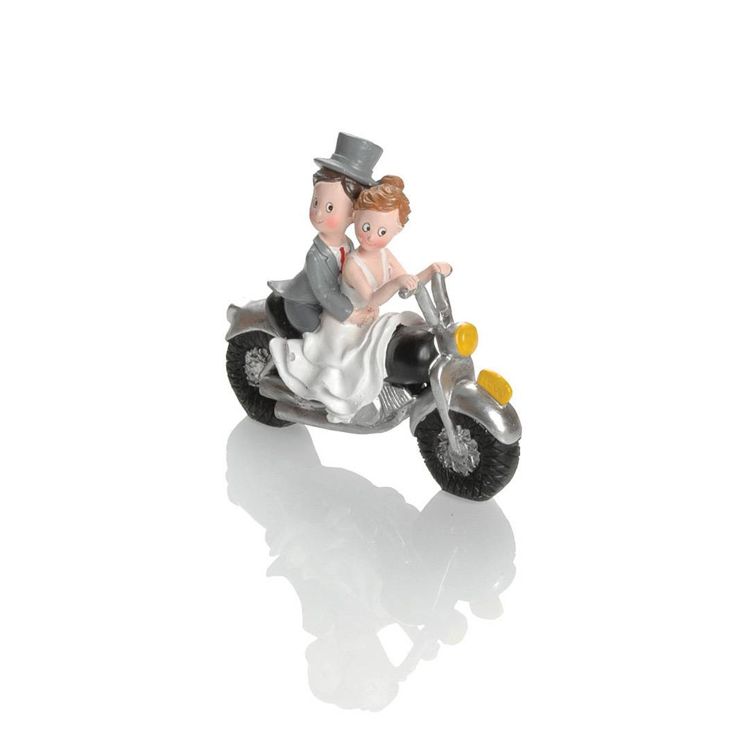 Booster Deco Figure Wedding Motorbike 2