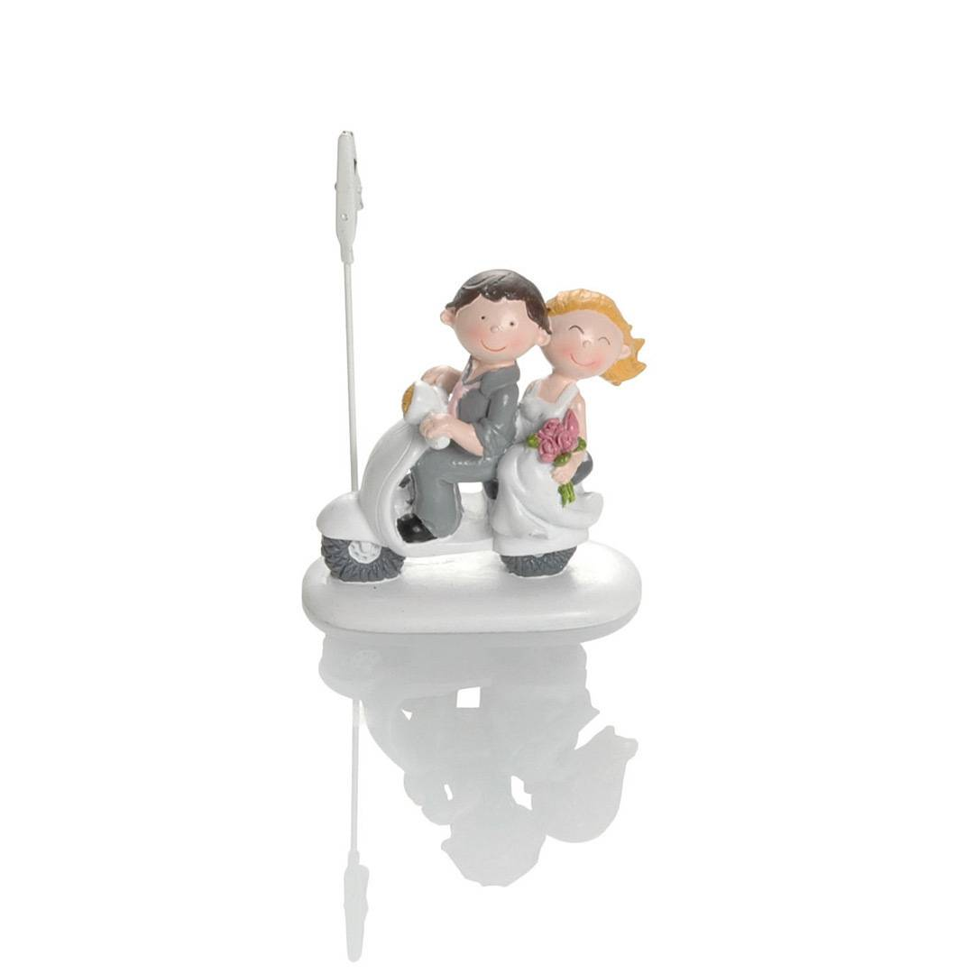 Booster Deco Figure Wedding Scooter with Clip 1