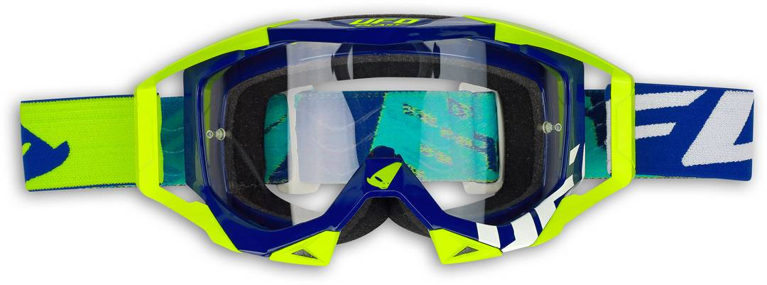 UFO Sirius Motocross Goggles Blue Yellow One Size