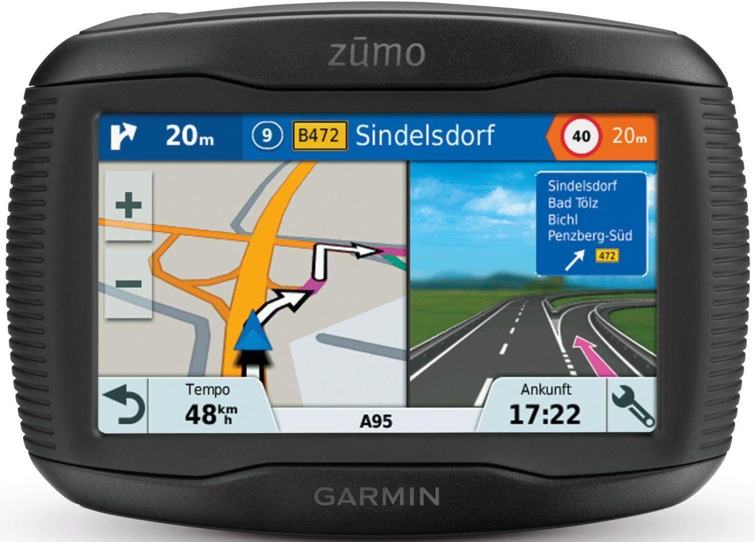 Garmin zumo 345LM Central Europe Navigation System Black One Size