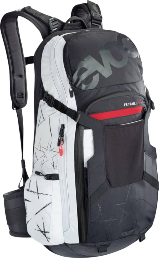 Evoc FR Trial Backpack Black White M L