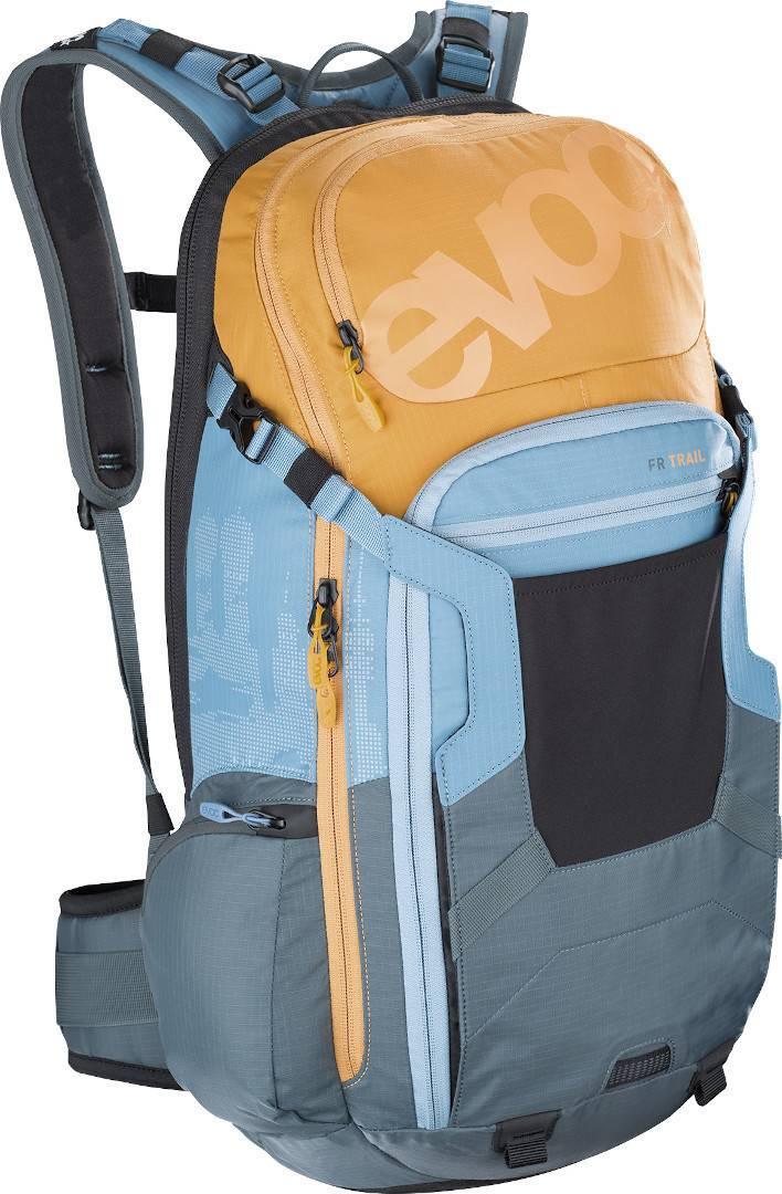 Evoc FR Trail Multicolor 20L Protector Backpack  - Size: Small