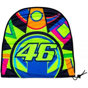 VR46 Sun and Moon Helmet Bag Blue Yellow One Size