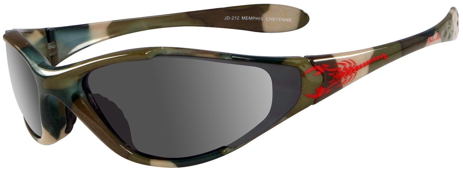 John Doe Cheyenne Sunglasses Grey Green One Size