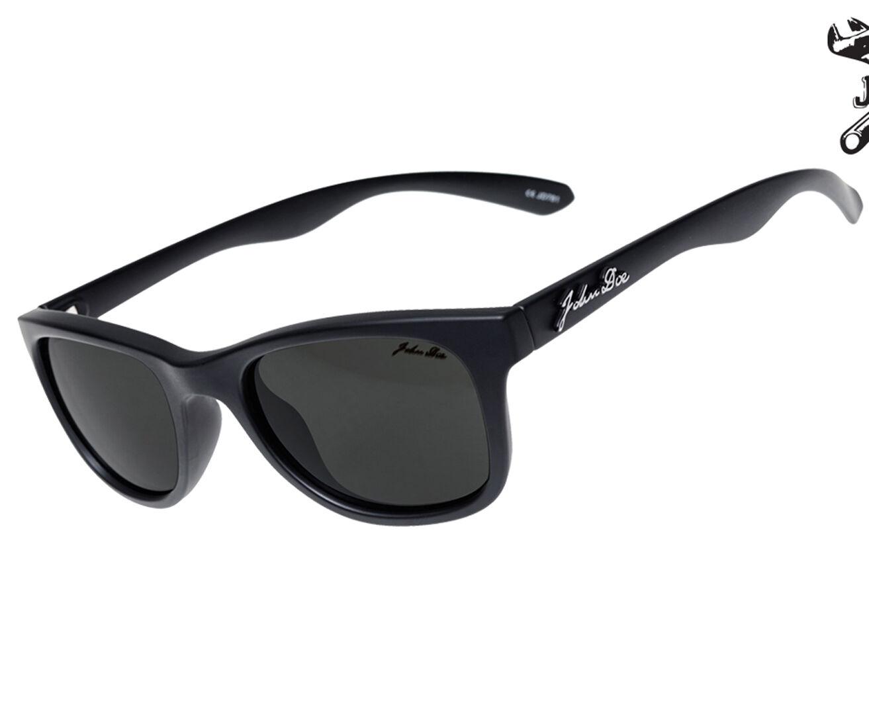 John Doe God Of Speed Sunglasses Black