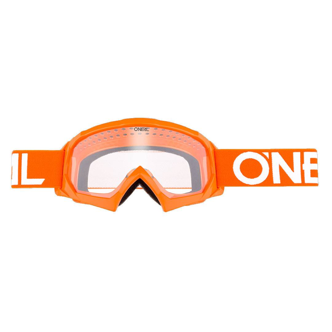Oneal O´Neal B-10 Solid Youth Goggle White Orange One Size