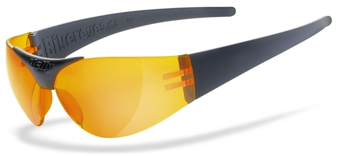 Helly Bikereyes Moab 4 Sunglasses Orange One Size