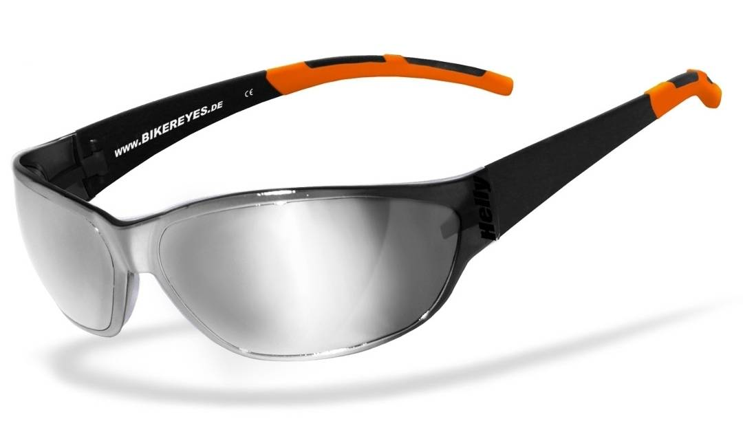 Helly Bikereyes Airshade Sunglasses Silver One Size